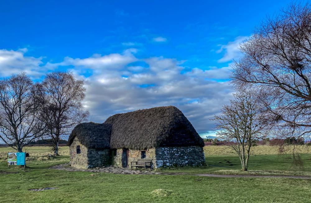 Leach Cottage, Culloden Battlefield