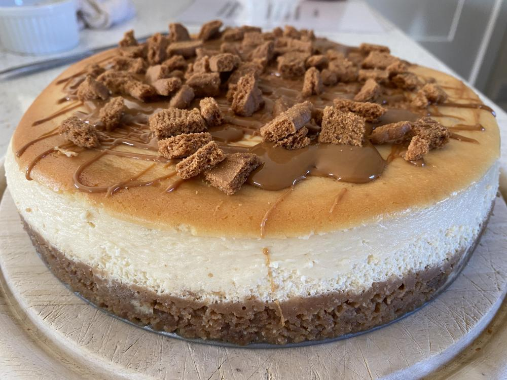 Baked Biscoff Cheesecake