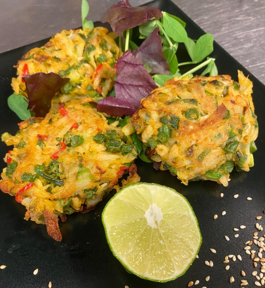 Thai Vegetable Cakes