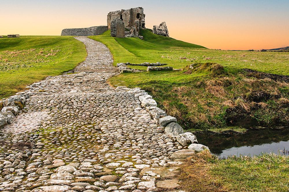 Duffus Castle - Castles in Moray