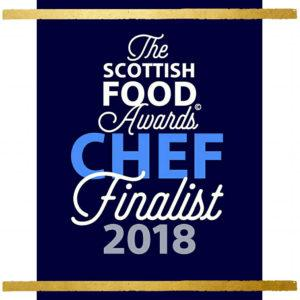 Scottish Food Awards Chef Finalist 2018