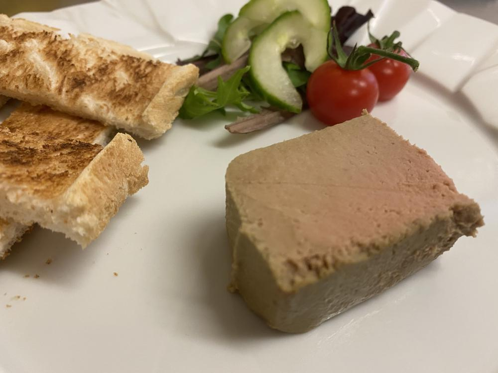 Chicken Liver and Foie Gras Parfait - Cluny Bank Dine-In Range